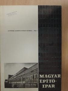 Mészáros János - Magyar Építőipar 1982/9. [antikvár]