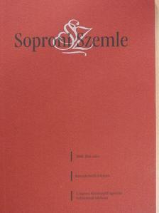 Andrássy Péter - Soproni Szemle 2008/1 [antikvár]