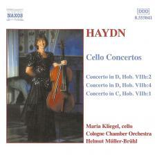 Haydn - CELLO CONCERTOS CD KLIEGEL,MÜLLER-BRÜHL