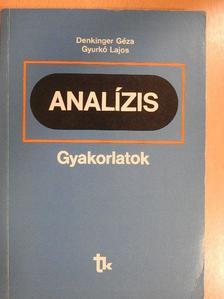 Dr. Denkinger Géza - Analízis [antikvár]