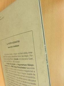 Bognár Antal - Kortárs 1996. április [antikvár]
