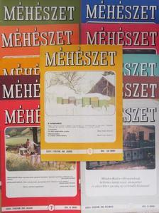 Barna József - Méhészet 1989. (nem teljes évfolyam) [antikvár]