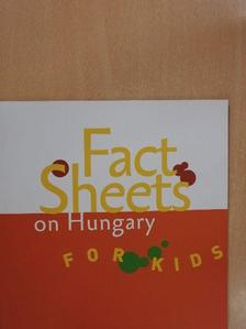 Bodó Márton - Fact Sheets On Hungary For Kids [antikvár]