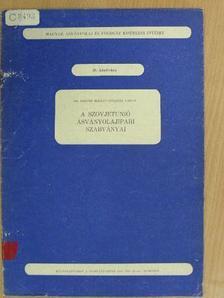 Dr. Freund Mihály - A Szovjetunió ásványolajipari szabványai [antikvár]