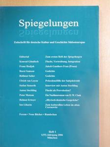 Franz Hodjak - Spiegelungen 2006/1 [antikvár]