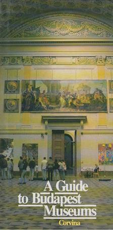 VADAS JÓZSEF - A Guide to Budapest Museums [antikvár]