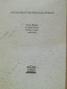 Graf Rezső - Anyanyelvünk szolgálatában [antikvár]