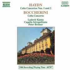 HAYDN & BOCCHERINI - CELLO CONCERTOS CD KANTA, BREINER