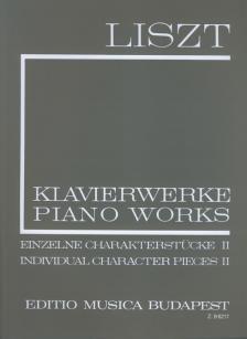 Liszt Ferenc - LISZT ÖSSZKIADÁS I/12 EINZELNE CHARAKTERSTÜCKE II