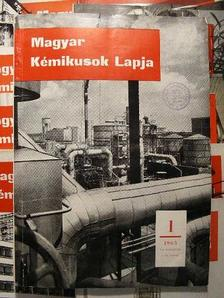 Ács Miklós - Magyar Kémikusok Lapja 1965. január-december [antikvár]