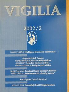 Báger Gusztáv - Vigilia 2002. február [antikvár]