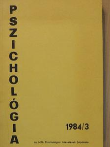 Bókay Antal - Pszichológia 1984/3. [antikvár]
