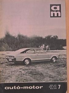 Juhász Andor - Autó-Motor 1972. április 6. [antikvár]