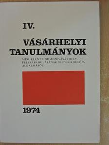 Almási Gyula Béla - Vásárhelyi tanulmányok IV. 1944-1974 [antikvár]