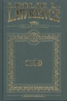 Leslie L. Lawrence - Csöd - Két sápadt szerzetes - díszkötés