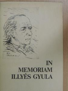 Bertók László - In memoriam Illyés Gyula [antikvár]