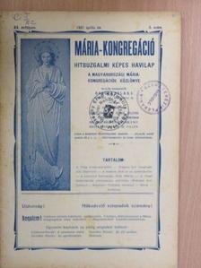 Oláh Miklós - Mária Kongregáció 1927. április [antikvár]