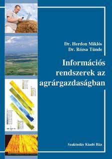 356602 - Dr. Herdon M.-Dr. Róz - Információs rendszerek az agrárgazdaságban