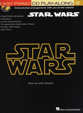 WIILIAMS, JOHN - STAR WARS EASY PIANO CD PLAY-ALONG VOL.31