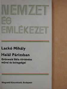 Lackó Mihály - Halál Párizsban [antikvár]