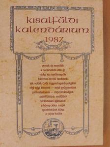 Amade László - Kisalföldi kalendárium 1987 [antikvár]