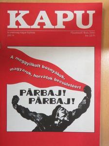 Borbély Zsolt Attila - Kapu 2000/4. [antikvár]