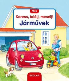 Susanne Gernhäuser - Mini Keress, találj, mesélj! - Járművek