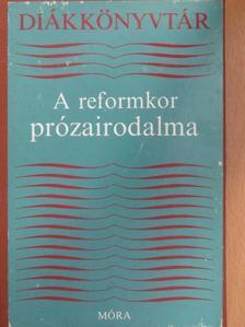 Bajza József - A reformkor prózairodalma [antikvár]