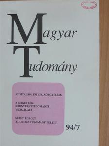 A. Anzerbacher - Magyar Tudomány 1994. július [antikvár]