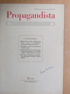 Balogh Elemér - Propagandista 1952. április [antikvár]