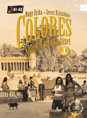 NAGY ERIKA - SERES KRISZTINA - 56496/M/NAT COLORES 1. - SPANYOL MUNKAFÜZET + CD