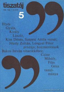 Vörös László - Tiszatáj 1980. május 34. évf. 5. [antikvár]