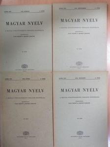 Mező András - Magyar Nyelv 1972/1-4. [antikvár]