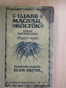 Ady Endre - Ujabb magyar költők [antikvár]