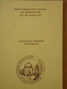 Dobozy Attila - Magyar Immunológiai Társaság XVII. vándorgyűlése [antikvár]