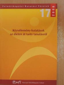 Bazsalya Balázs - Közvélemény-kutatások az életen át tartó tanulásról [antikvár]