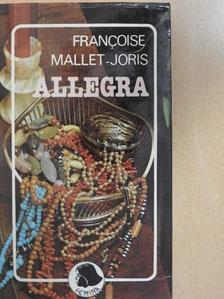 Francoise Mallet-Joris - Allegra [antikvár]