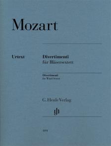 MOZART, W,A, - DIVERTIMENTI FÜR BLAESERSEXTETT (F. LOY) STIMMEN URTEXT
