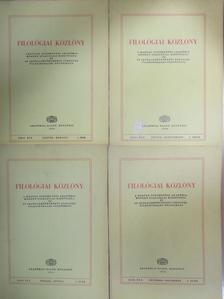 A. Molnár Ferenc - Filológiai Közlöny 1976. január-december [antikvár]