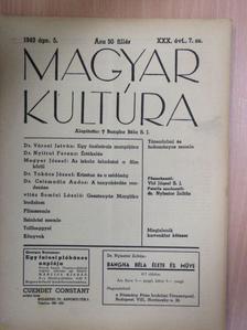 Dr. Csizmadia Andor - Magyar Kultúra 1943. április 5. [antikvár]