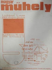 Bakucz József - Magyar Műhely 1962. május-június/1976. november [antikvár]