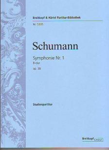 Schumann, Robert - SYMPHONIE NR.1 B-DUR OP.38 STUDIENPARTITUR URTEXT (JOACHIM DRAHEIM)