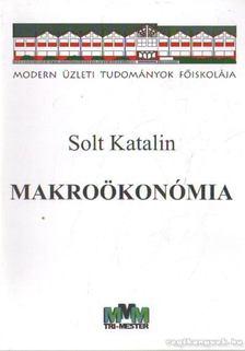 SOLT KATALIN - Makroökonómia [antikvár]
