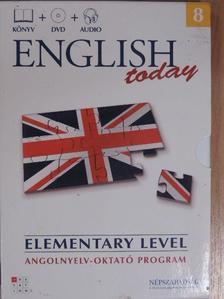 English today Elementary level 8. - DVD-vel [antikvár]