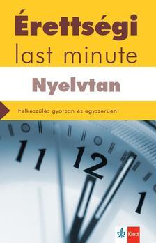 DIÓSZEGI ENDRE - Érettségi - Last minute - Nyelvtan