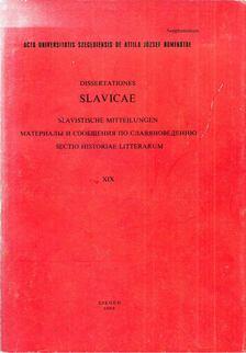 Szőke Katalin - Dissertationes slavicae XIX [antikvár]