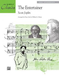 JOPLIN - THE ENTERTAINER. ARR. FOR PIANO SOLO, EARLA INTERMEDIATE