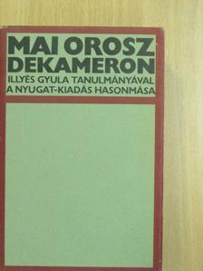 Borisz Pilnják - Mai orosz dekameron [antikvár]