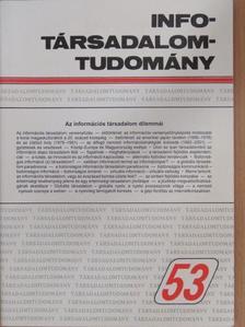 Dénes Tamás - Info-Társadalomtudomány 2001. augusztus [antikvár]