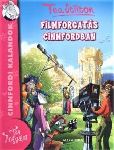 Tea Stilton - Filmforgatás Cinnfordban